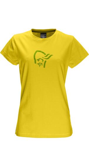 Norrøna W's /29 Cotton Logo T- Shirt Mellow Yellow